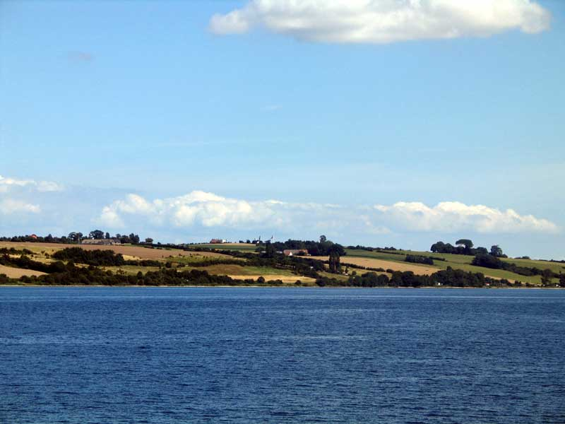 Fra Vemmingbund kan man se flaget på Dybøl Banke samt historiecenteret